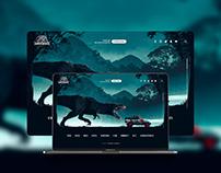 WEB DESIGN - Jurassic World | Landing Page