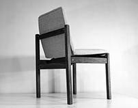 Renowacja krzesła projektu Jana Węcławskiego