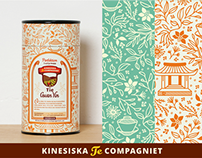 Kinesiska Te Compagniet (label / package design)