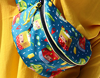 BumbagR apparel brand - Pattern Design