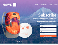Backpack Offer Landing Page