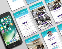 Mobile App UX/UI Concept & Design (Student Work)