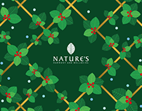 Nature's Christmas 2015 | Brand Identity