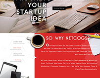 NETCOGS HOMEPAGE WEB LAYOUT 2017 (UI/UX)