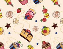"""Pattern """"Dessert""""."""