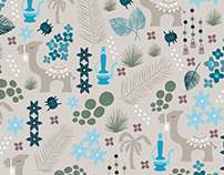 Surface Design: Tea in the Sahara Collection