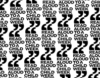 READ ALOUD TO A CHILD WEEK | Logo + style guide