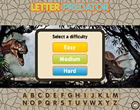 Letter Predator