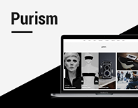 Purism - Responsive Theme for WordPress