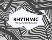 Rhythmic Party Flyers