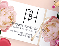 Brown House /business card design/
