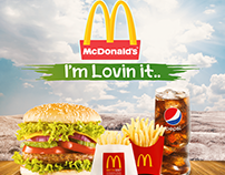 McDonalds Wall paper Advertising - Unofficial