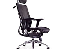One of many designs for ergonomically sound chairs