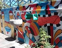 Wall painting - Pintura mural (Alentejo, Portugal)