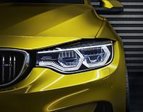 BMW M4 CLOSE UP(FULL CGI)