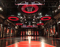 Nike Lebron6 Interactive Basketball Training Centre