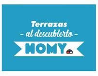 Terrazas al descubierto - Homy