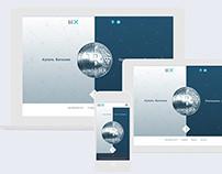 Website for Bitcoin start-up.