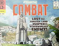 Personal Work: Astounding Combat Poster