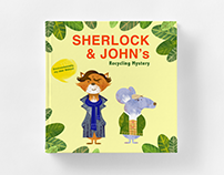 BBC Sherlock - children's book cover