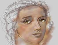 New female portrait.