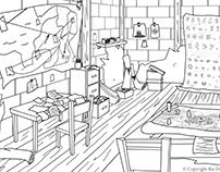 Dojo Series Background Cleanup/Design Set: Secret Room