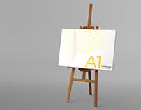 Easel & Canvas Scene Creator