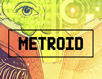METROID | A BIT OF ART: A homage to 8 & 16- Bit Games