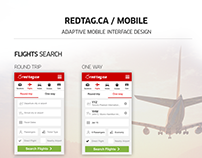 Redtag.ca Mobile Design