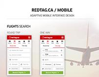 Redtag.ca Mobile Design