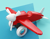 A plain with a plain plane