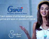 Aircel G-Spot Webisodes starring Shibani Dandekar