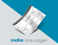 One Pager - MABE cooking appliances