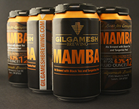 Gilgamesh Brewing Can Design