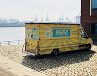 Golden Monkeys Foodtruck - Branding