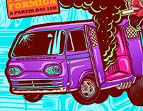 Boogie Van - Grito Rock Poster