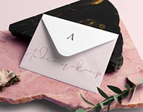 Aline Araújo Studio Makeup - Branding and Packaging