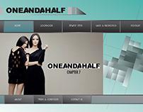 ONEANDAHALF - Clothing Line
