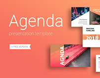 Agenda Presentation Template