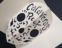 Calaveras Book - Handmade pop-up book