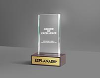 Trophy Design Esplanade One