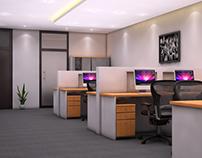 OFFICE INTERIOR DESIGN -DOHA, QATAR