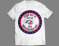 Every Day Is Independence Day - Patriotic T-Shirt