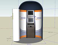 3D Model for the Kiosk Backdrop of Saudi Electricity Co