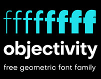 Objectivity | Free Geometric Font Family | Legacy