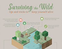 Surviving the Wild Infographic