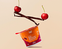 DAH! yogurt packaging