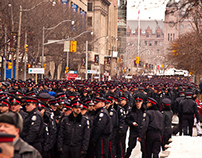 Funeral of Sgt, Ryan Russell