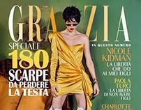 Cover with Coco Rocha for Grazia Italy