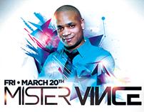 Mister Vince at Bluu Digital Flyer Design